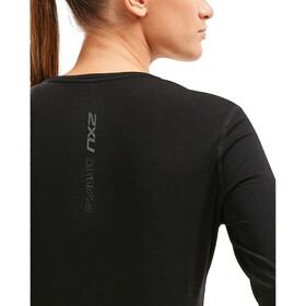 2XU Heat LS Shirt Women, black